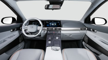 Hyundai NEXO fuel cell SUV - interior