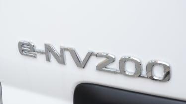 Living with an EV - Nissan e-NV200 rear