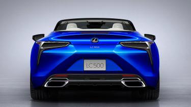 Lexus LC Convertible - full rear