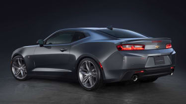 The sixth-generation Camaro is a styling evolution rather than a radical redesign.