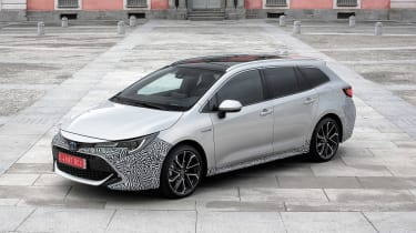 Toyota Corolla Touring Sports prototype - front static