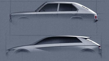 Hyundai 45 Concept - sketch