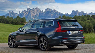 Volvo V60 - rear static