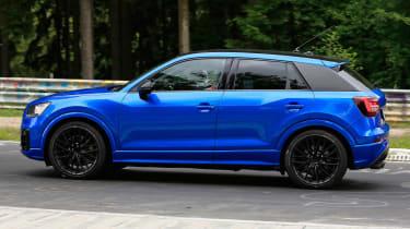 Audi SQ2 spy shots - side