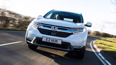 Honda CR-V hybrid - full front