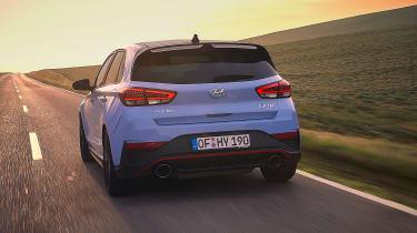 New Hyundai i30 N 2021 - rear