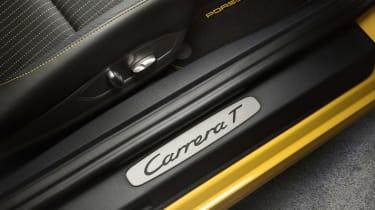 Porsche 911 Carrera T - sill