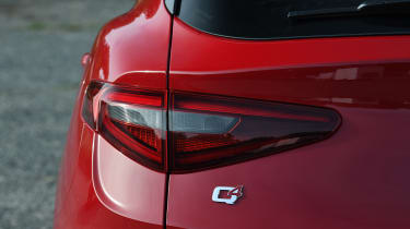 Alfa Romeo Stelvio - rear light