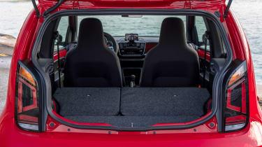 Volkswagen up! GTI - boot seats down