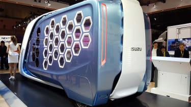 Isuzu FD-SI concept Tokyo rear