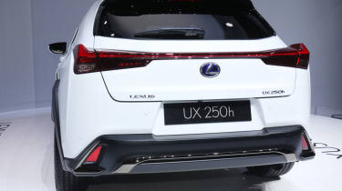 Lexus UX rear end