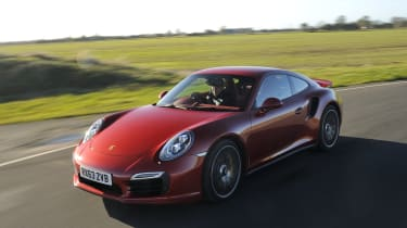 Launch control helps launch the 911 Turbo S from 0-60 in just 2.8 seconds.