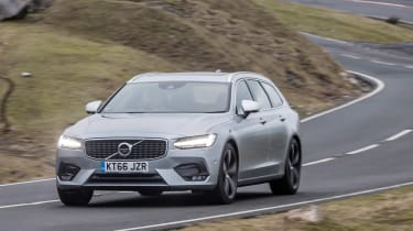 Volvo V90 R-Design 2017 - front tracking 3