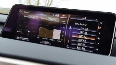 Lexus RX 200t - infotainment