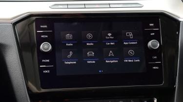 Volkswagen Passat - screen