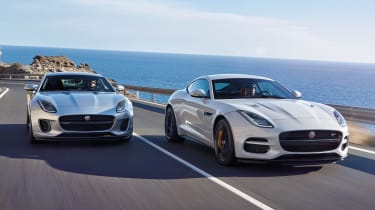 Jaguar F-Type MY2017 - twin