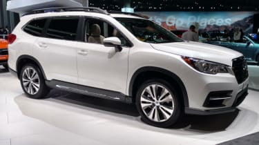 New Subaru Ascent SUV - white front