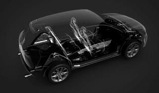 PSA innovation - PHEV interior space