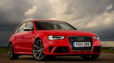 Audi RS4 - front static