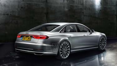 Audi A8 2017 render rear