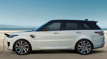 Range Rover Sport PHEV - charging