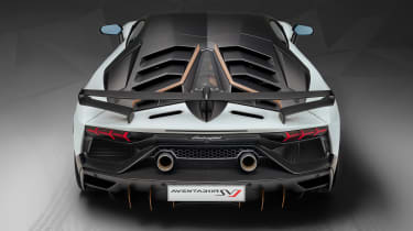 Lamborghini Aventador SVJ 63 - full rear