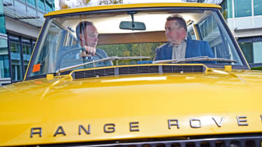 Ian Robertson interview - Range Rover