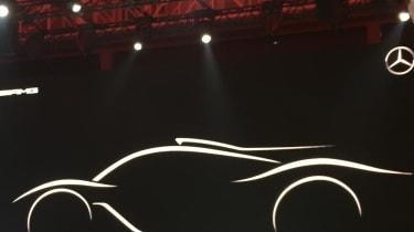 Mercedes AMG hypercar teaser