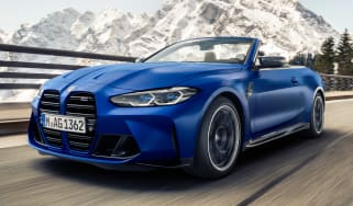 BMW M4 Competition Convertible - front