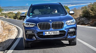 BMW X3 M40i - full front action