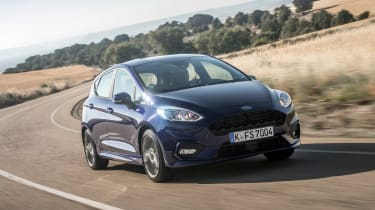 Ford Fiesta ST-Line - front action