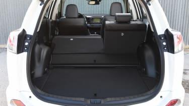 Mazda 2 Sport Black rear driving