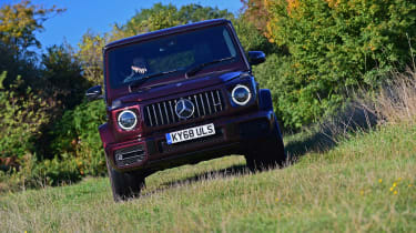 Mercedes G-Class - front off-road