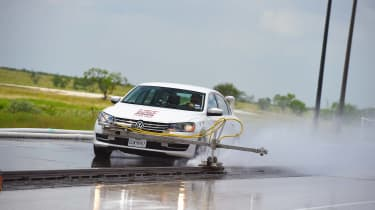 Ultimate tyre test - wet testing 2