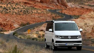 Volkswagen California valley drive