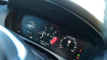 Jaguar F-Pace first drive - instruments