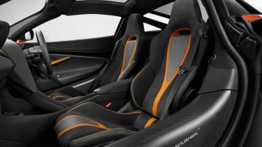 McLaren 720S - front seats