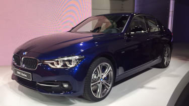BMW 3 Series facelift - front