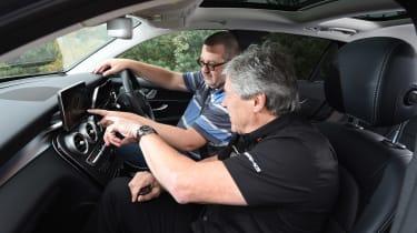 Mercedes GLC long-term test - inside