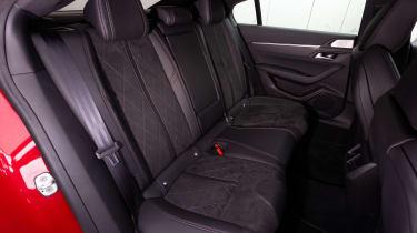 Peugeot 508 - back seats