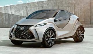 Lexus LF-SA - front studio
