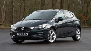 Vauxhall Astra - front static