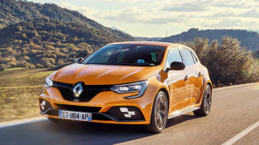 Renault Megane R.S. - front action