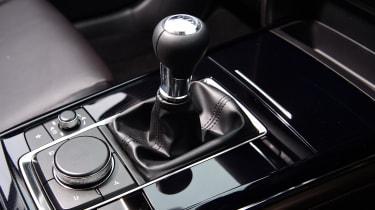 Mazda CX-30 - gear lever