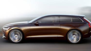 Volvo Concept Estate side