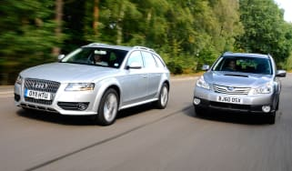 Audi A4 Allroad vs Subaru Outback