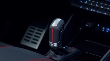 Hyundai Tucson N Line - gearstick