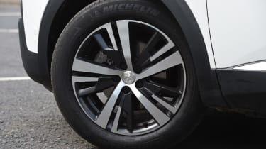 Peugeot 5008 long-term test - wheel