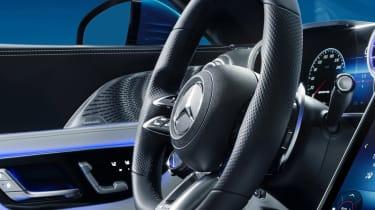 Mercedes SL interior - steering wheel