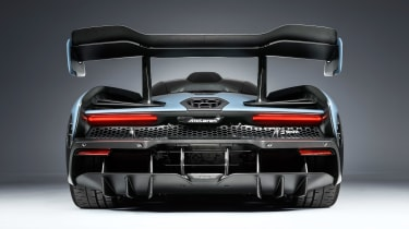 McLaren Senna - grey full rear